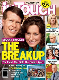 Jim Bob and Michelle Duggar are divorcing, Kate Gosselin is ruining her children…