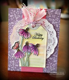 Good morning!     I'm joining the designers from Sweet 'n Sassy Stamps in showing a few more cards that I made with September's Release...