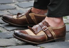 The Art of Shoemaking, Tassle Brogues These are a real hybrid of...