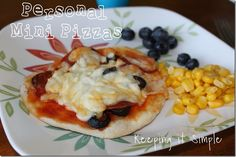 personal mini pizza--uses Rhodes dinner rolls