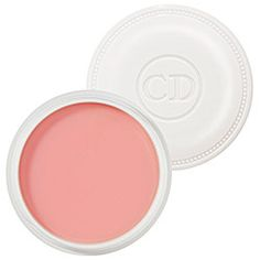 the creme de rose lip balm by christian dior is my latest beauty obsession