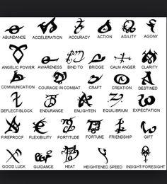 City of Bones runes