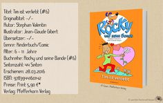 """In der sechsten Folge von """"Rocky und seine Bande - Tim ist verliebt"""" erzählt der Autor Stephan Valentin und der Illustrator Jean-Claude Gibert über das erste Verliebtsein. Eine nette und kurzweilige Comicgeschichte für Kinder ab 6 Jahren. ~ Freundschaft ~ erste Liebe ~ liebenswürdig"""