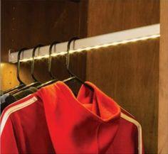 LED Lit Closet Rod By Hafele