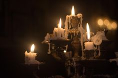 Candlestick by George Campbell Gothic Aesthetic, Slytherin Aesthetic, Witch Aesthetic, Aesthetic Photo, Dark Fairytale, Fairytale Book, Dark Paradise, Old Money, Vampires