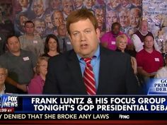 Pro-Trump Focus Group Make Frank Luntz's Legs Wobble, Luntz818