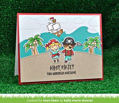 Hello and welcome to Lawn Fawn's Summer2017 Inspiration and Release  week! OnMay 18thour 10 new stamp sets and their coordinating  d...