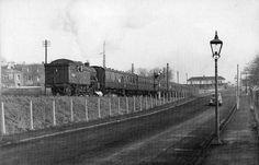 Edinburgh Railways - Leaving Pinkhill Station - 1960