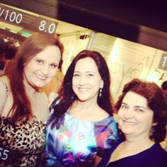 Designers Adriana Ximenes, Andréa Drummond e Márcia Vidal. Evento Quadrilátero do Charme. Vogue Rio - Galeria Fórum Ipanema. #vikx #joias #voguerio #quadrilaterodocharme #joya #joyaipanema