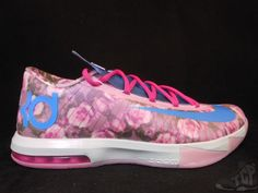 Vtg OG 2014 Nike Air KD VI 6 s sz 11 XI Aunt Pearl Floral What The MVP Durant #Nike #Athletic #tcpkickz