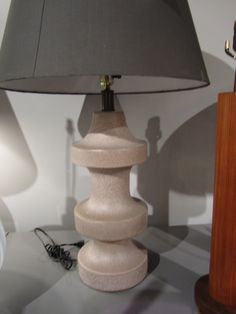 """""""3 Tier Taupe"""": taupe ceramic with slate speckles/ slate grey shade."""