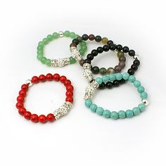 Beaded Bracelets Diy Jewellery Designs Bracelet Jewelry Design Crystals Crystal