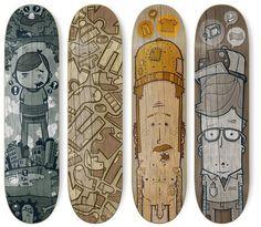 Average Joe Skateboards by Greg Darroll