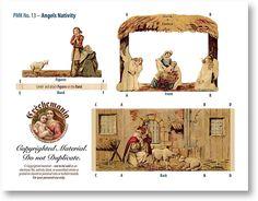 Angels Nativity Sheet - PaperModelKiosk.com