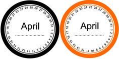 April date