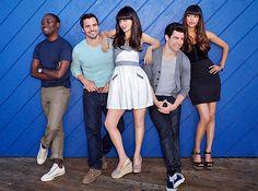 'New Girl' cast ~ EW Photo Shoot, December 2012 ~ #ewportraits #ewphotoshoots