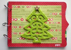 Organizing Holiday Cards - So cute!