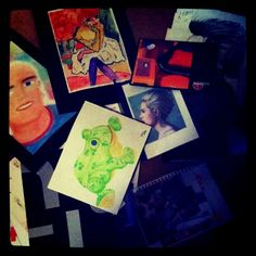 Really old drawings and paintings by me