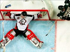 Even the best #hockey #goalies in history let about 1-in-10 shots get by them. To have a career save percentage above .90 requires goalies to defy logic on a regular basis… and many of them do.   #MyHockeyNation #SaturdaySaves #IceHockey #ILoveHockey #Hockey4Life #HockeyLovers #NHL #NHLGoalies