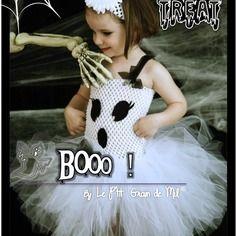 Tutus de halloween sur pinterest costumes de tutu de - Fabriquer fantome halloween ...