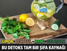 Limon, Zencefil ve Salatalık ile Detoks! Bu yazımızda limon, zencefil ve salatalık içeren bir detoks ve arındırıcı diyeti sizinle paylaşmak istiyoruz. Bu beslenme şekli detoks yapmanıza yardımcı olacak ve hayat kalitenizi arttıracak.