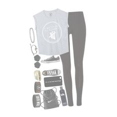 """//•5sos concert with U.V.•\\"" by my-happy-little-pill ❤ liked on Polyvore featuring Converse, NIKE and Dollydagger"