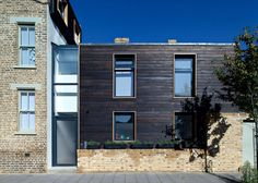 Chris Dyson Architects have used shou sugi ban to replace the rear of a Victorian house in Kenworthy Road, Hackney, East London. venetia@exteriorsolutionsltd.co.uk www.shousugiban.co.uk  01494 291 033