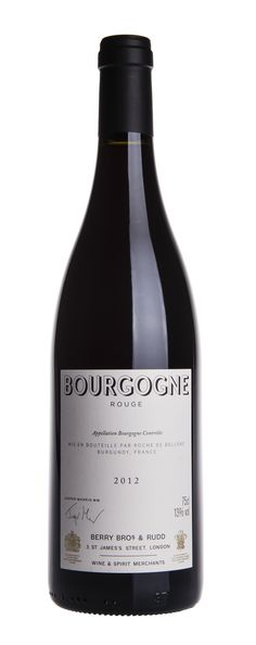 Our 2012 Bourgogne Rouge shows the concentrated fruit of the vintage. Lively bright red cherry and raspberry notes, brimming with energy, supported by some darker fruit to deliver a complete range of flavours on the palate. The juicy fruit and fresh acidity makes this a perfect partner for lamb, chicken or turkey dishes.