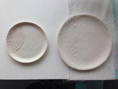 Textured ceramics - Rose Nisbet