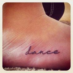 feet tattoo.