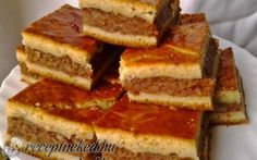 Érdekel a receptje? Kattints a képre! Baking And Pastry, Nutella, Tiramisu, French Toast, Sandwiches, Deserts, Food And Drink, Favorite Recipes, Sweets