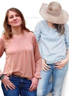 Bluse+oder+Tunika+Fennja+für+Erwachsene