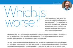 'James Akers' from 'April 2015 issue of fête magazine' by jay Another Clinton or another Bush?