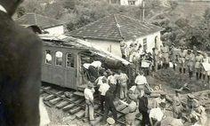 1944 acidente com o tem que abalou Tucuruvi