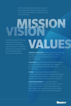 Image result for mission vision values poster