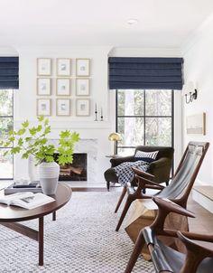 Portland-Projekt: The Living Room Reveal (Emily Henderson) - Wohnzimmer Dekoration Living Room Decor Curtains, Living Room Furniture, My Living Room, Small Living, Modern Living, Barn Living, Luxury Living, Burgundy Living Room, Modern Family Rooms