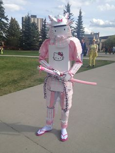 Hello Kitty Samurai cosplay (just for you, @Shimelle Laine)