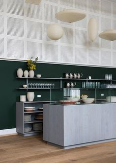 Kafeteria, Copenhagen, Denmark | Partnering with chef Frederik Bille Brahe, the man behind the city's beloved Atelier September, the design of the eatery has been influenced by Danish-Vietnamese artist Danh Vo, who happened to informally work on the project while he was based at the museum to prepare for an upcoming exhibition at The Guggenheim #denmark #design #copenhagen #restaurantdesign