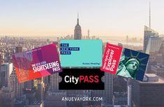 ¿Cuál es la mejor tarjeta turística de Nueva York? Comparativa New Explorer, City Pass, Nyc, Winter Is Coming, New York City, Times Square, Past, Adventure, Amazing