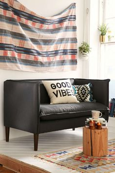 Colette French Seam Settee Sofa - Urban Outfitters