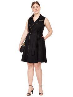 City Chic   Sharp Utility Dress   Gwynnie Bee