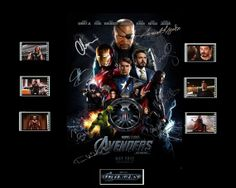 Avengers Film Cell Presentation  Movie by Everythingbutthatcom, £9.99