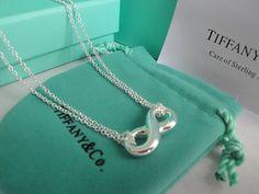 Tiffany Necklace Double Loving