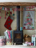 Lovely Christmas Fireplace