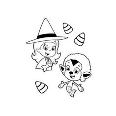 Bubble guppies halloween coloring pages ~ Bubble Guppies coloring picture | Coloring and Activities ...