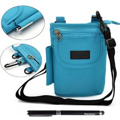Holds large phone, Dexcom receiver, glucose monitor, and other supplies. Can carry numerous ways.   Amazon.com: Ranboo Multi-purpose Outdoor Sports Travel Leisure Small Shoulder Bag/ Waist Pack/ Wallet /Smartphone Pouch Case with Free 2 in 1 Stylus Pen: Cell Phones & Accessories