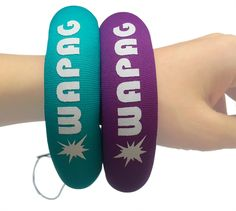 Waterproof Camera Float Strap WAPAG Universal Floating Wristband Buoyancy Belt for GoPro/Panasonic/Nikon COOLPIX/Canon PowerShot/Fujifilm FinePix/Waterproof Bag/Cell Phone - 2 Pack Turquoise Purple