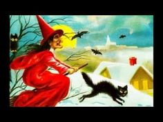 Rare Old Halloween Postcards - YouTube