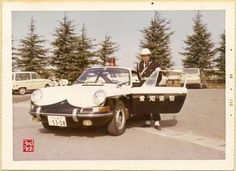 PORSCHE 912 POLICE CAR IN JAPAN 1960's Aichi-pref.
