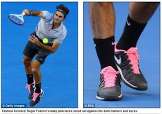 News Outlet Startled by Professional Athlete Wearing Pink (click thru for analysis)